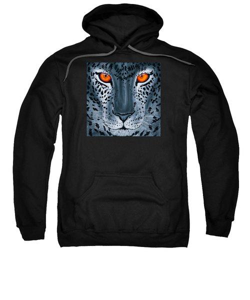 Steel Leopard Sweatshirt