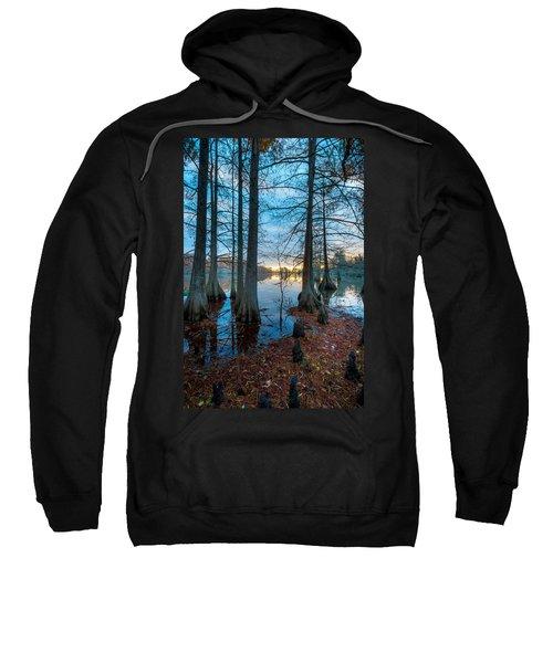 Steinhagen Reservoir Vertical Sweatshirt