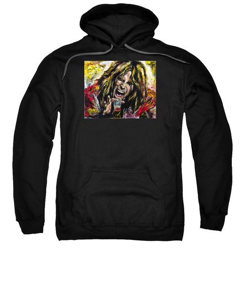 Steven Tyler Sweatshirt by Mark Courage