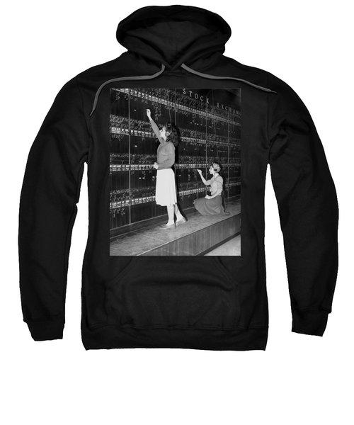 Stock Exchange Hires Women Sweatshirt