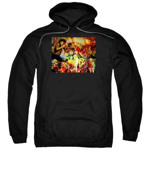 Stone Temple Pilots Original  Sweatshirt by Ryan Rock Artist