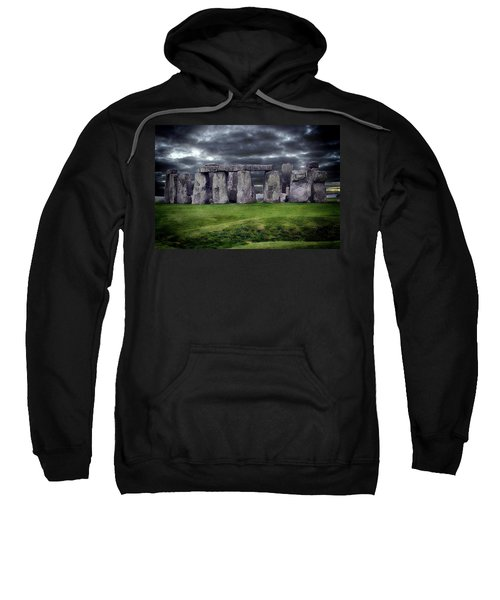 Storm Clouds Over Stonehenge Sweatshirt
