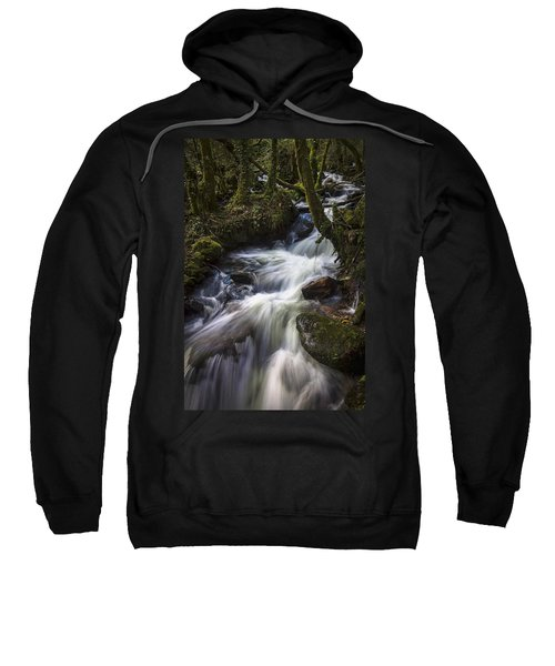 Stream On Eume River Galicia Spain Sweatshirt