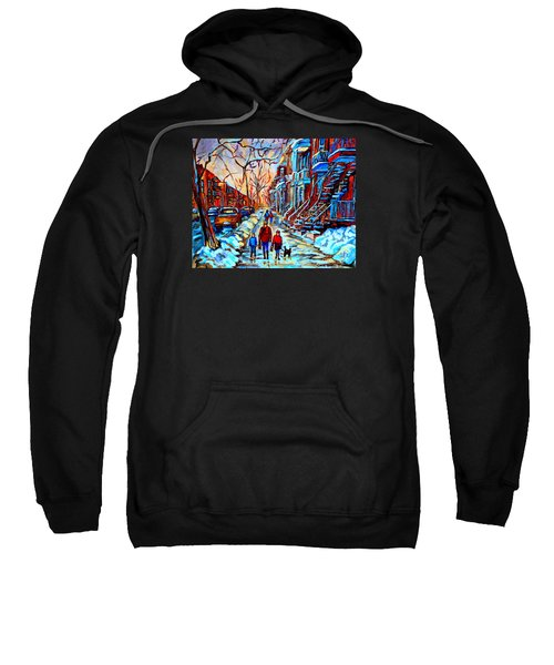 Streets Of Montreal Sweatshirt