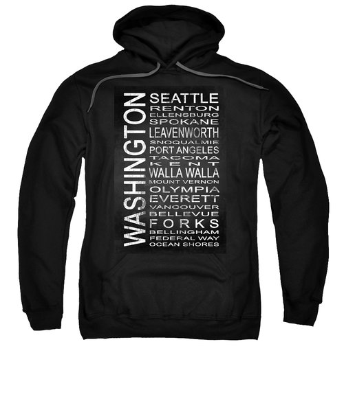 Subway Washington State 1 Sweatshirt