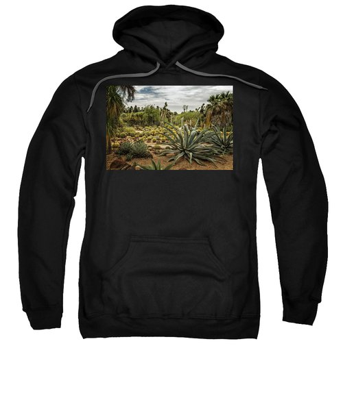 Succulents At Huntington Desert Garden No. 3 Sweatshirt