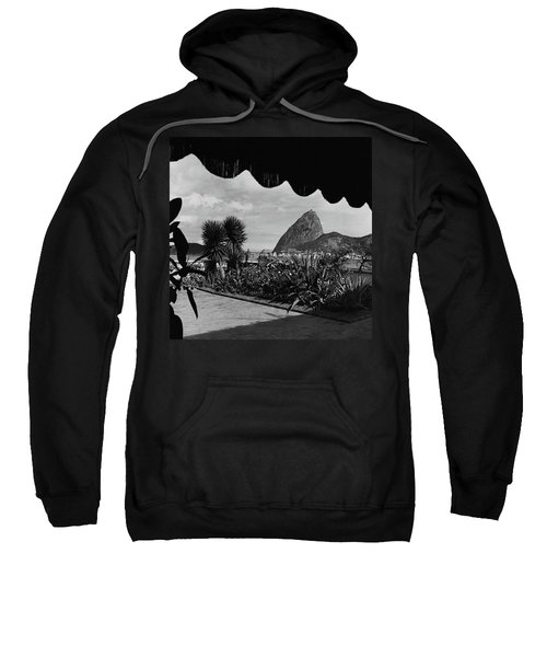 Sugarloaf Mountain Seen From The Patio At Carlos Sweatshirt
