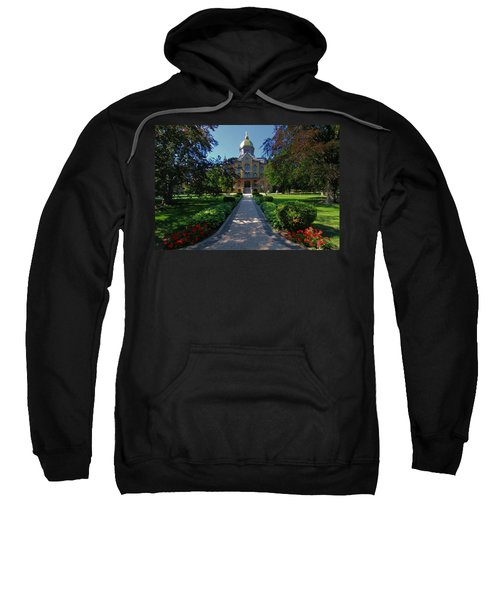 Sweatshirt featuring the photograph Summer On Notre Dame Campus by Dan Sproul
