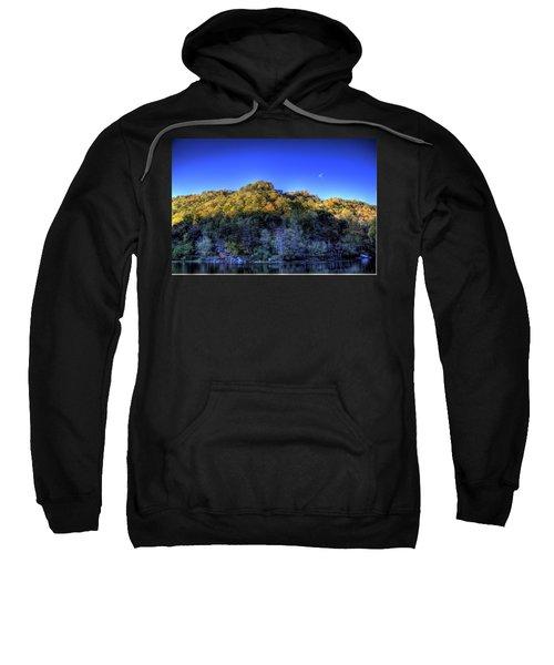 Sun On Autumn Trees Sweatshirt by Jonny D