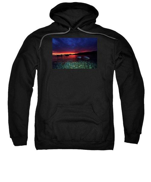 Sundown In Lake Tahoe Sweatshirt
