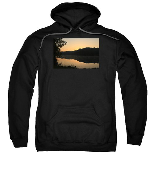 Sunrise At Rose Lake Sweatshirt
