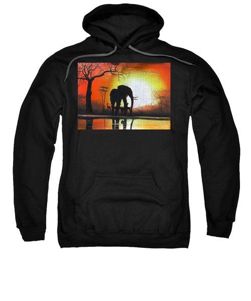 Sunrise In Africa Sweatshirt