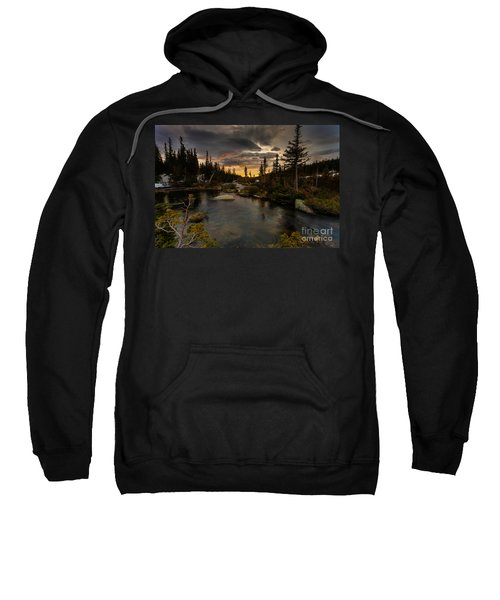 Sunrise In The Indian Peaks Sweatshirt