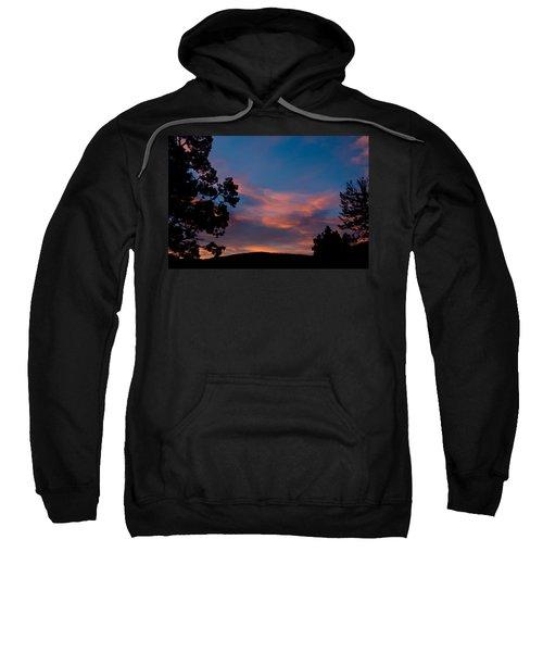 Sunrise Over Mammoth Campground Sweatshirt