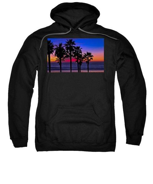 Sunset From The Ocean Park Inn Sweatshirt