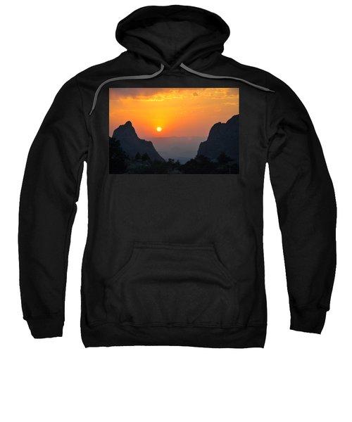 Sunset In Big Bend National Park Sweatshirt