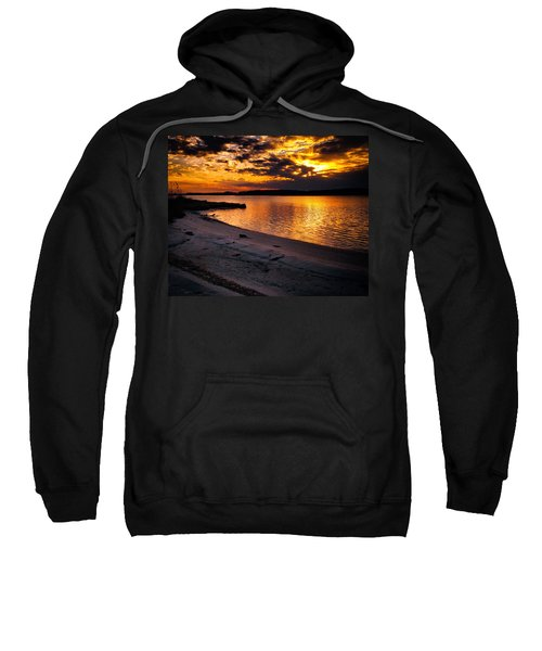 Sunset Over Little Assawoman Bay Sweatshirt