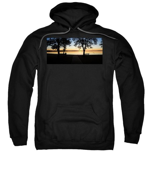 Sunset Over Pomona Reservoir At Pomona Sweatshirt