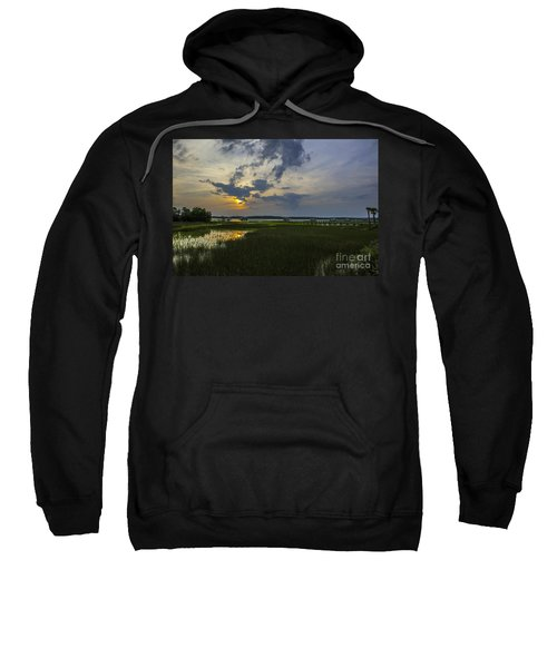 Sunset Over The Wando Sweatshirt