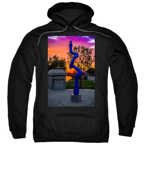 Sunset Sculpture Sweatshirt