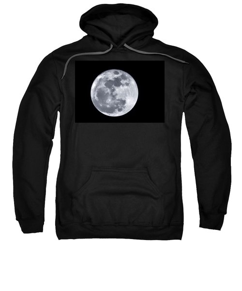 Super Moon Over Arizona  Sweatshirt