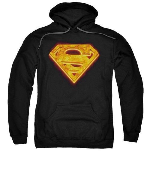 Superman - Hot Steel Shield Sweatshirt