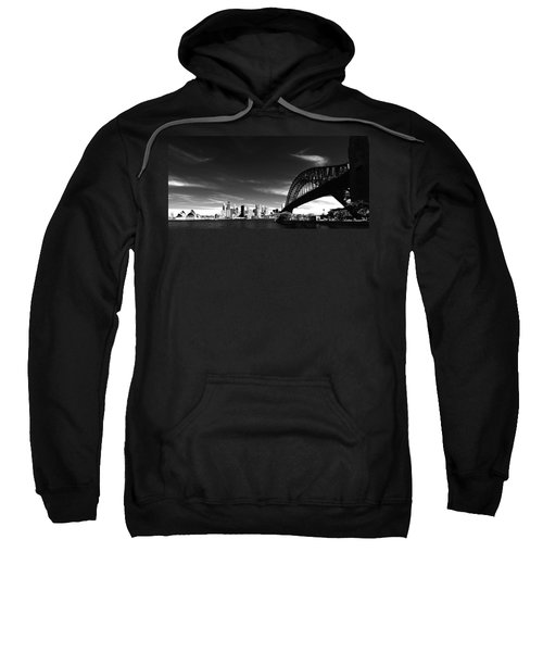 Sweatshirt featuring the photograph Sydney by Chris Cousins