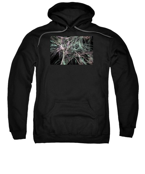 Synapsis Abstract Fractal Sweatshirt