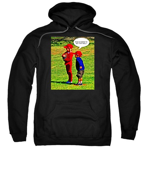 T Ball Fielders Sweatshirt