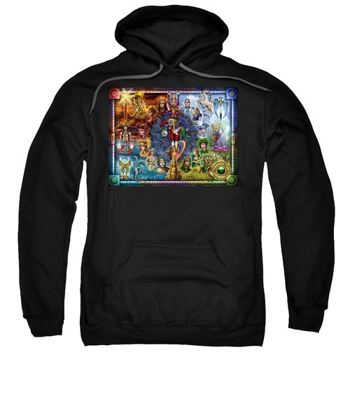 Tarot Of Dreams Sweatshirt by Ciro Marchetti
