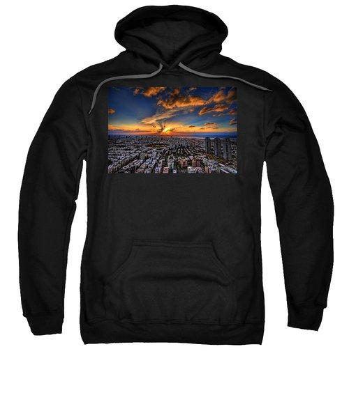 Tel Aviv Sunset Time Sweatshirt