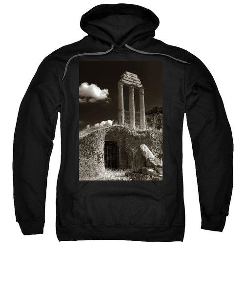 Temple Of Castor And Polux Sweatshirt