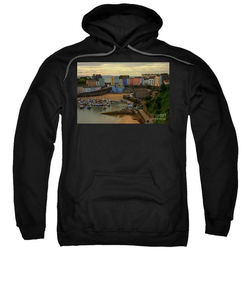 Tenby Harbour In The Morning Sweatshirt