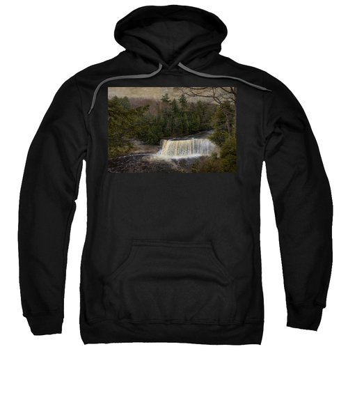 Textured Tahquamenon River Michigan Sweatshirt