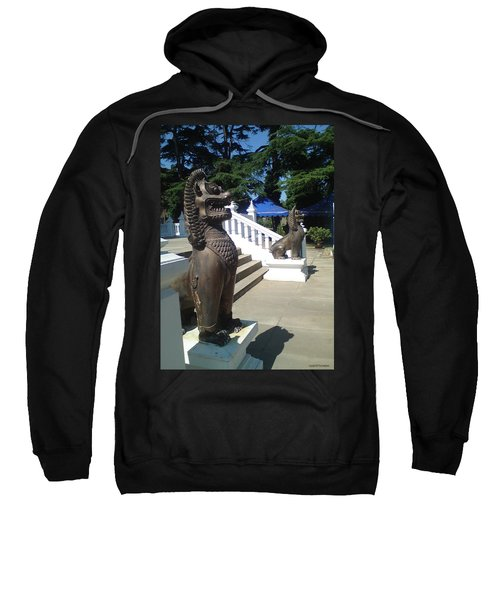 Thai Temple Steps Sweatshirt