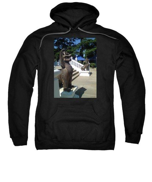 Thai Temple Steps Sweatshirt