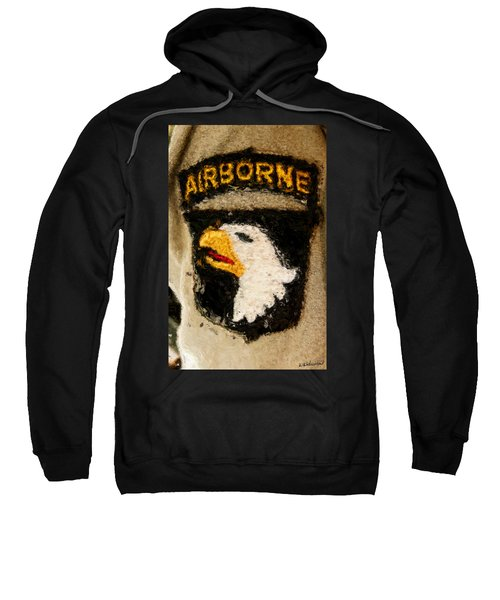 The 101st Airborne Emblem Painting Sweatshirt