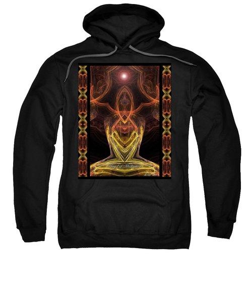 The Angel Of Meditation Sweatshirt