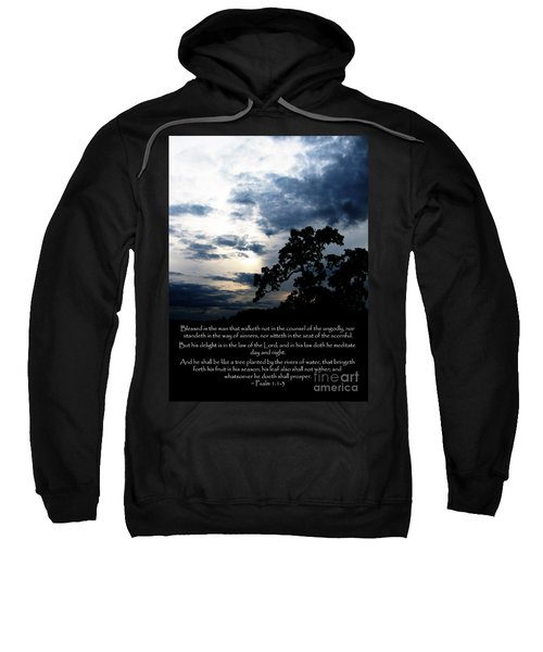 The Bible Psalm 1 Sweatshirt