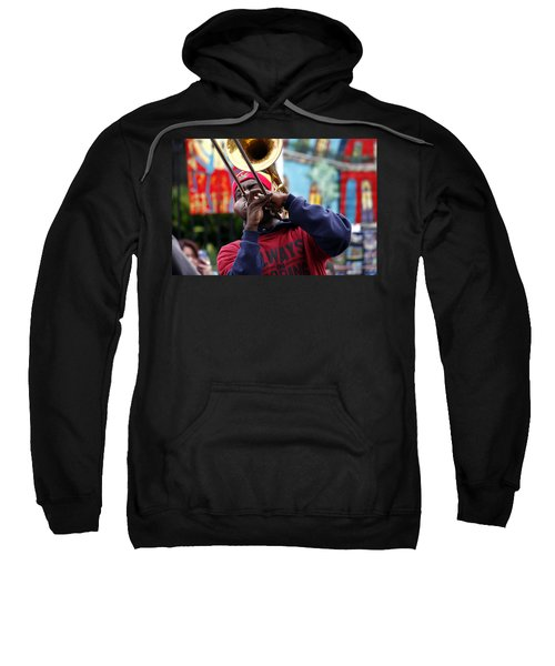 The Breath Of Jazz Sweatshirt