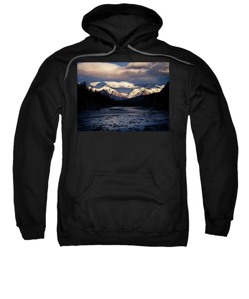The Clouds Roll Off The Top Sweatshirt