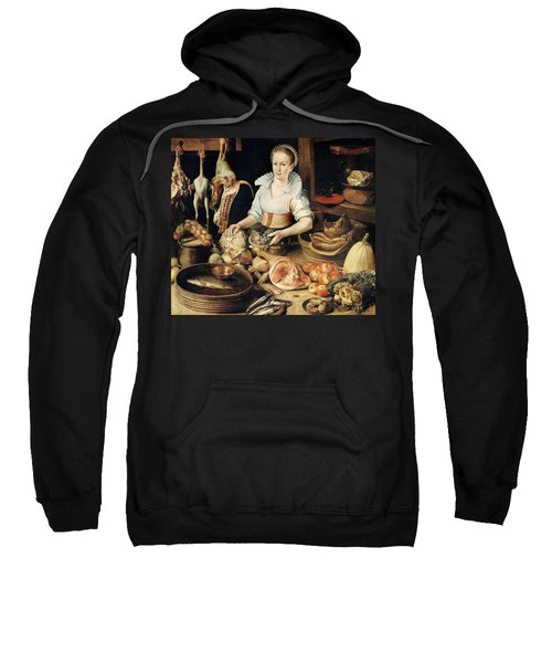 The Cook Sweatshirt by Pieter Cornelisz van Rijck