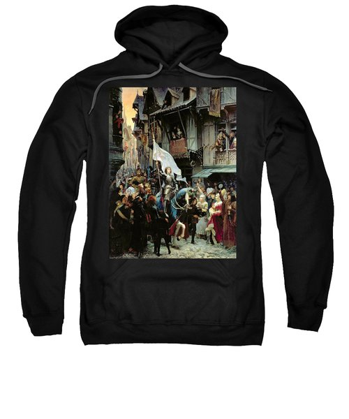 The Entrance Of Joan Of Arc Into Orleans Sweatshirt