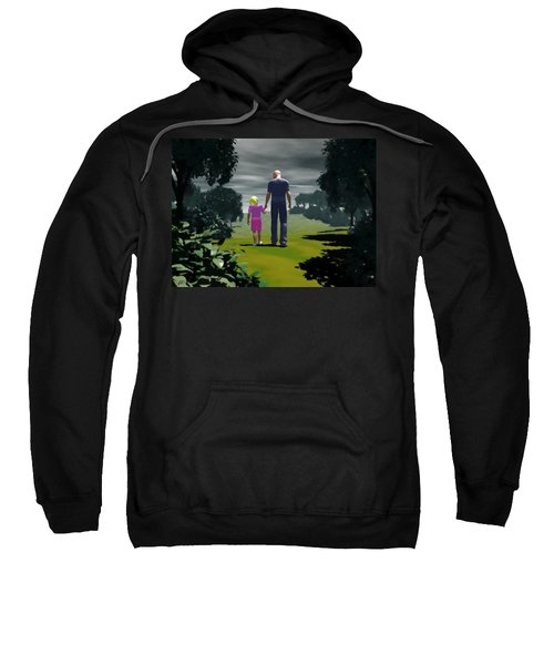 The Gift Of Being 'daddy' Sweatshirt