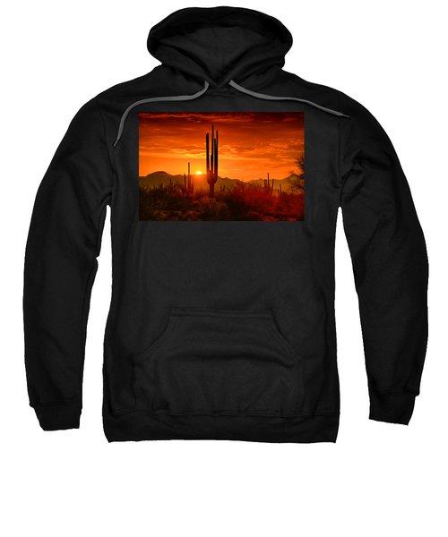 The Golden Southwest Skies  Sweatshirt