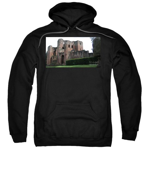 Sweatshirt featuring the photograph The Great Keep  by Denise Railey