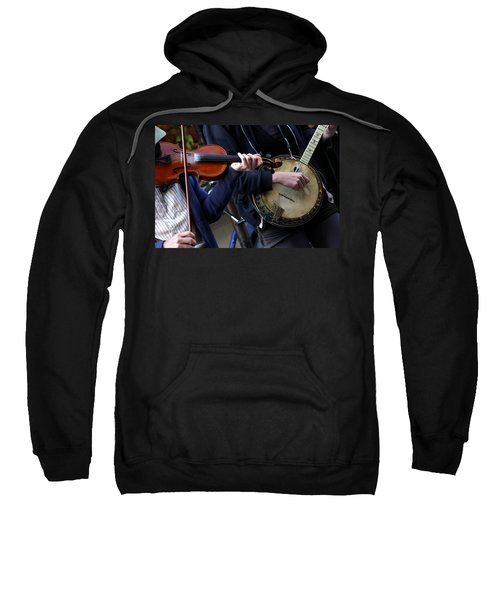 The Hands Of Jazz Sweatshirt