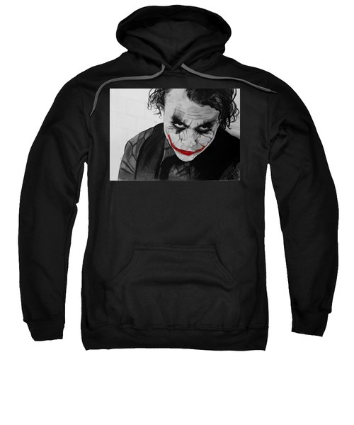 The Joker Sweatshirt by Robert Bateman