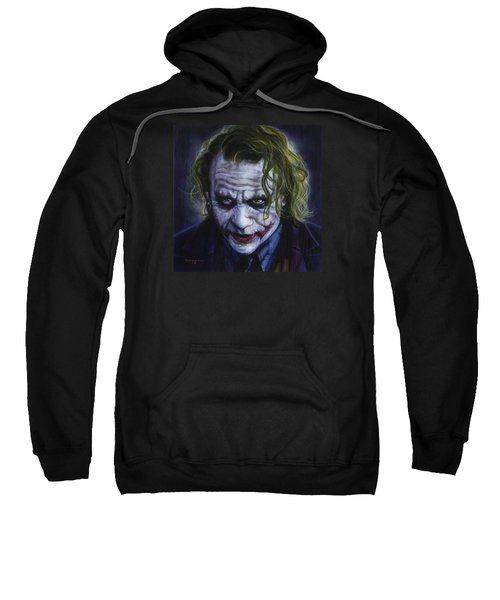 The Joker Sweatshirt by Tim  Scoggins