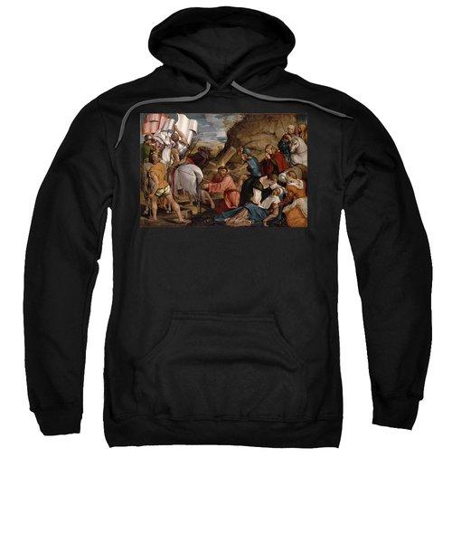 The Journey To Calvary, C.1540 Sweatshirt